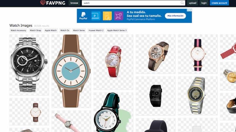 banco de imagenes de relojes favpng